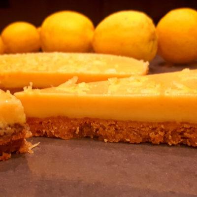 Λεμονόπιτα με λευκή σοκολάτα